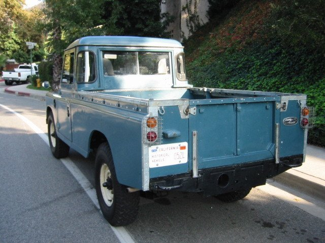 1969 Land Rover 109 Pick-up