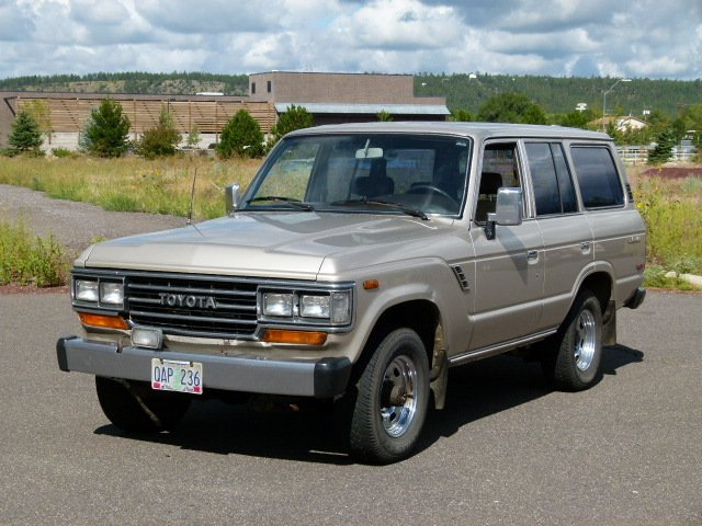 1989 TOYOTA ORIGINAL FJ62 ONE OWNER RUST FREE LOW MILE RECORDS