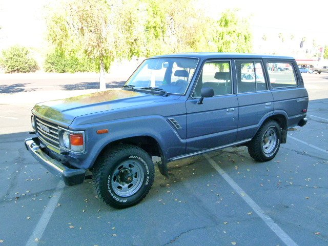 1985 Toyota FJ60 TWO OWNER RUST FREE LOW MILE