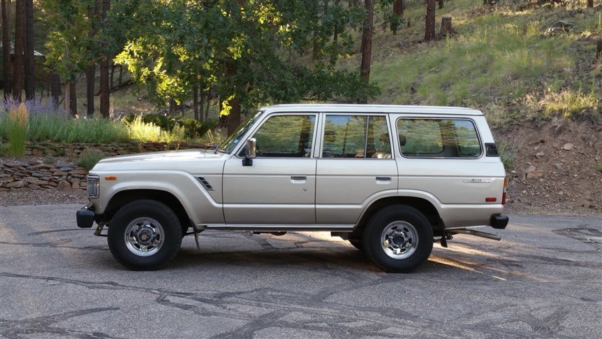1988 Toyota FJ62 Stock Original Mint