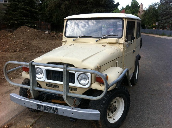 1981 Toyota BJ42 STOCK ORIGINAL RUST FREE