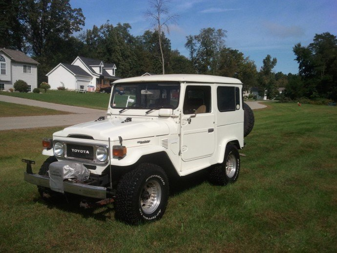1980 Toyota BJ41 LOW MILES LOADED
