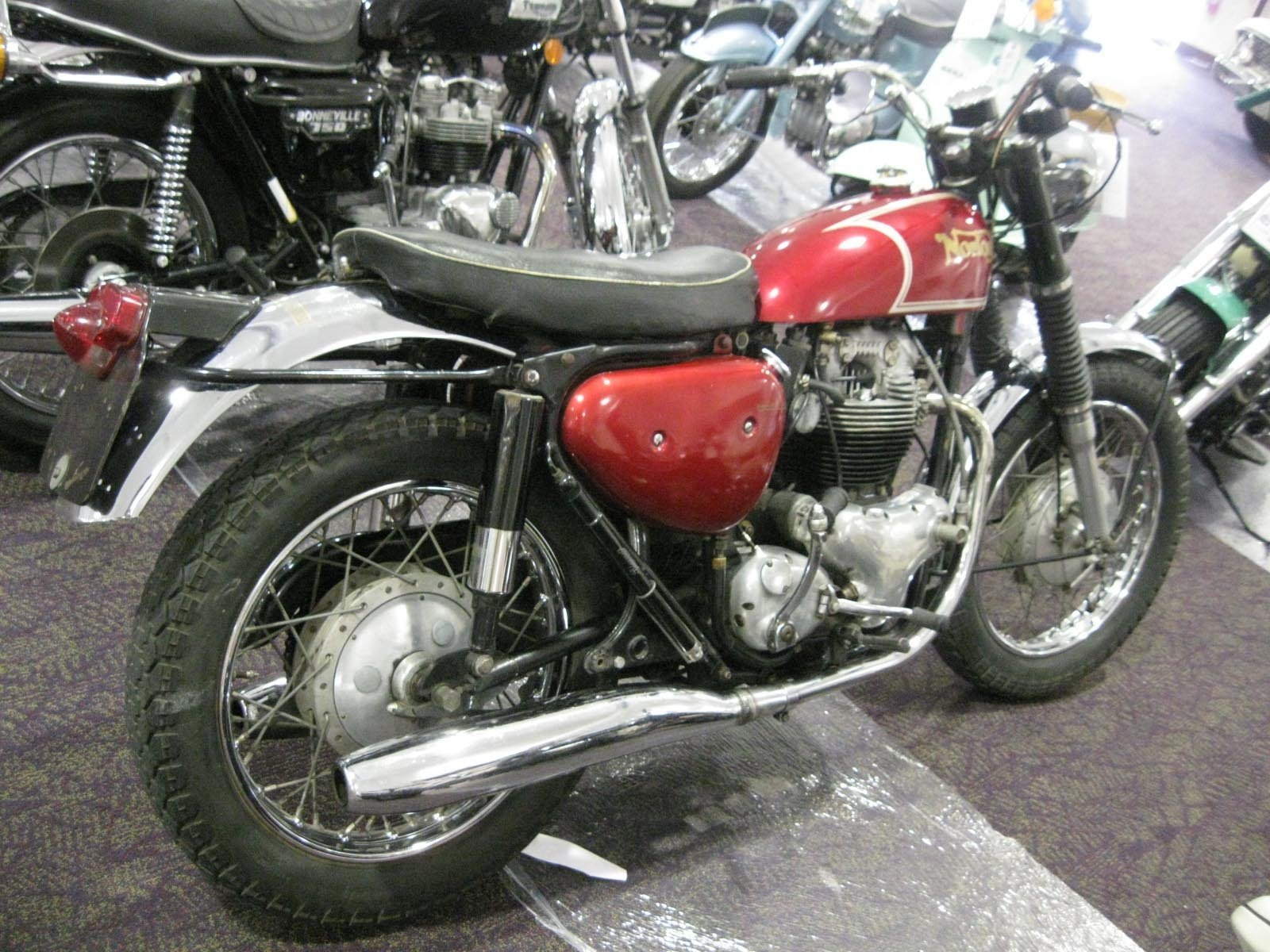 1967 NORTON P-11 750cc ORIGINAL
