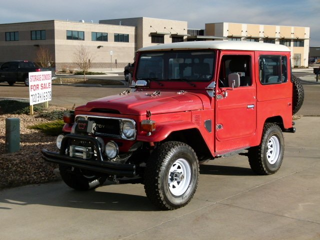 1979 Toyota FJ40 BEAUTIFUL ORIGINAL CONDITION STOCK CO