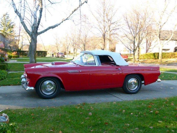 1956 Ford THUNDERBIRD BARN FIND