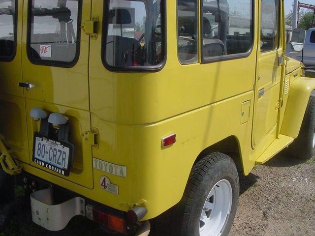 1980 Toyota FJ40 US MODEL ORIGINAL OWNER RUST FREE