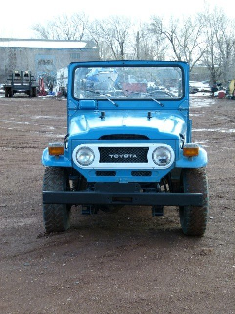 1978/79 Toyota FJ40 CONVERTIBLE SUPER STOCK ORIGINAL