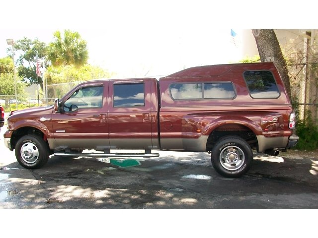 2007 Ford F350SD KING RANCH DSEL DRW DVD FX4 4X4