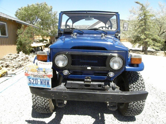 1978 Toyota FJ40 SCARCE ORIGINAL OWNER RUST FREE ALL ORIGINAL