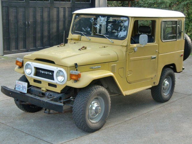 1977 Toyota ORIGINAL FJ40 ONE OWNER LOW MILE AMAZIING