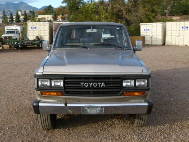 1988 Toyota FJ62 STOCK SUPER LOW MILES ONE OWNER