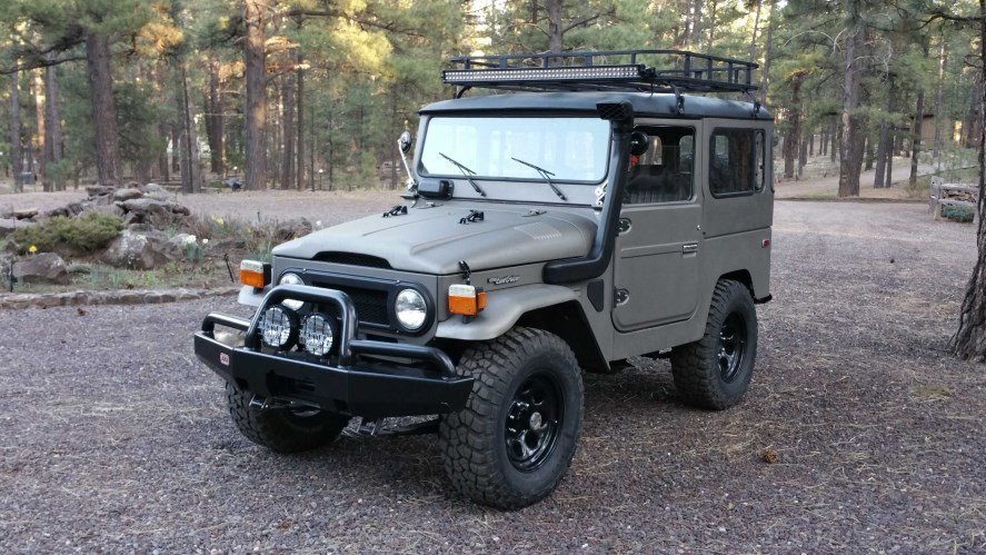 1980 TOYOTA TURBO DIESEL BJ42 - ICON RECREATION ALLOY BODY