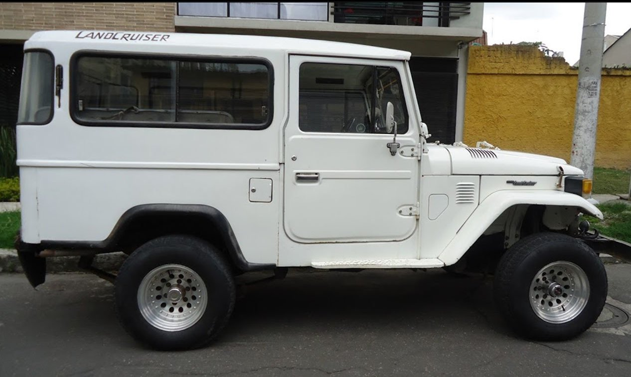 1982 Toyota FJ43 LONG WHEEL BASE WAGON LOADED