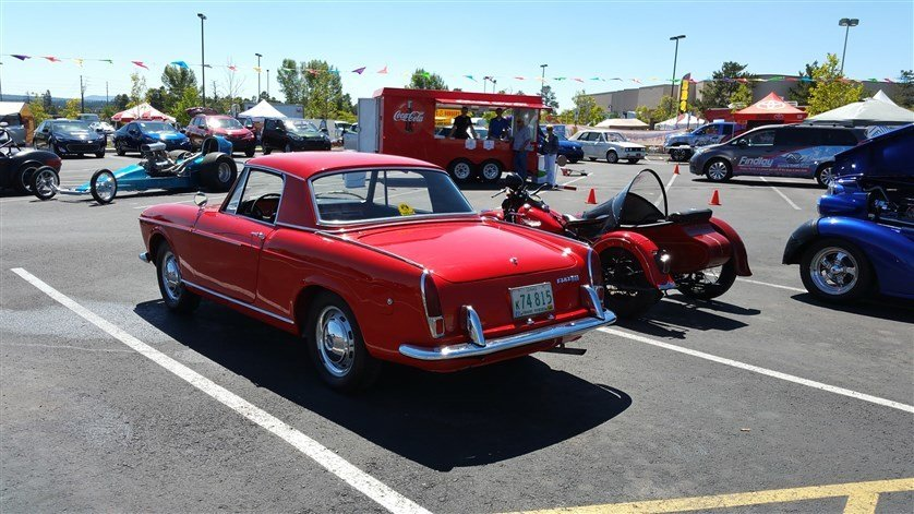 1966 Fiat 1500 CABRIOLET SOFT & HARD TOP