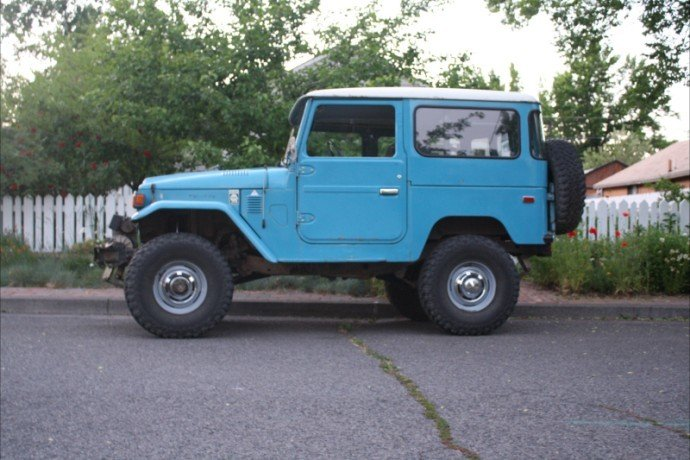 1978 Toyota FJ40 STOCK RUST FREE BEAUTIFUL!