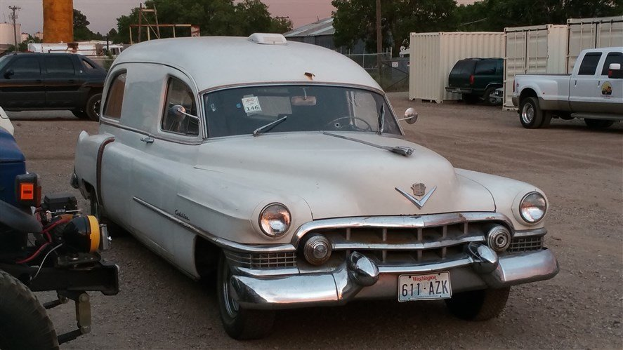1951 Cadillac AMBULANCE RUST FREE COMPLETE INTACT for sale #54550 | MCG