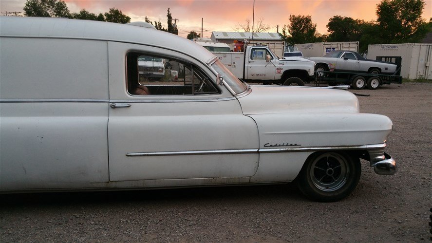 1951 Cadillac AMBULANCE RUST FREE COMPLETE INTACT for sale #54550   MCG