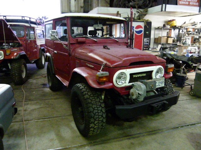 1976 Toyota FJ40 Original with many upgrades, Power Steering