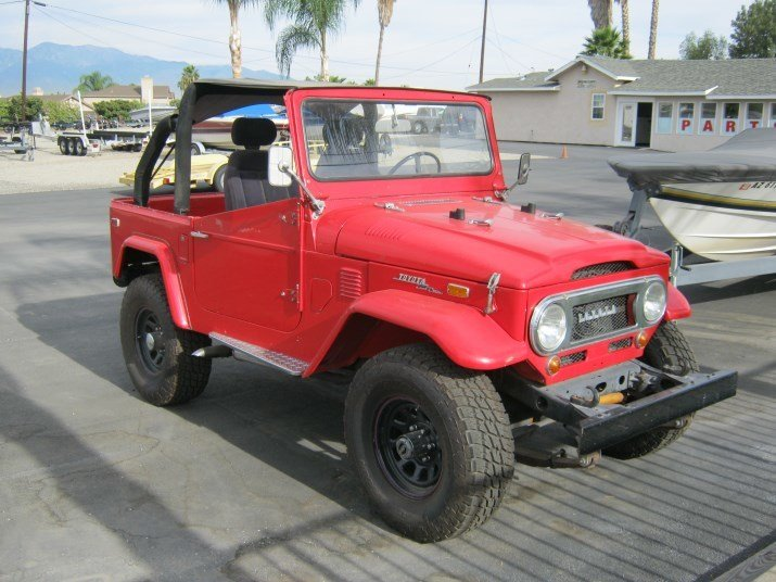 1973 Toyota FJ40 MINT BODY 100% STEEL UPGRADE V8 CONVERTIBLE