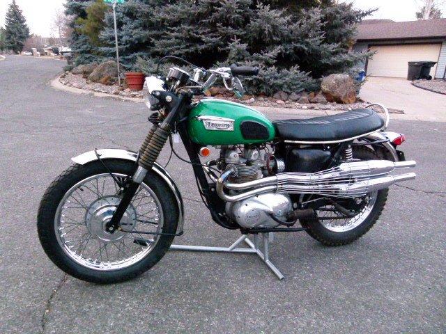 1969 Triumph T100C TROPHY SPECIAL 2