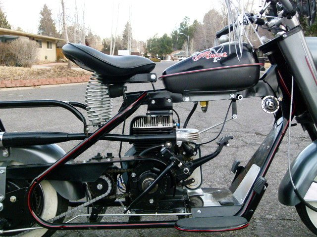 1960 Cushman EAGLE STOCK RESTORED CUSTOM UPGRADES