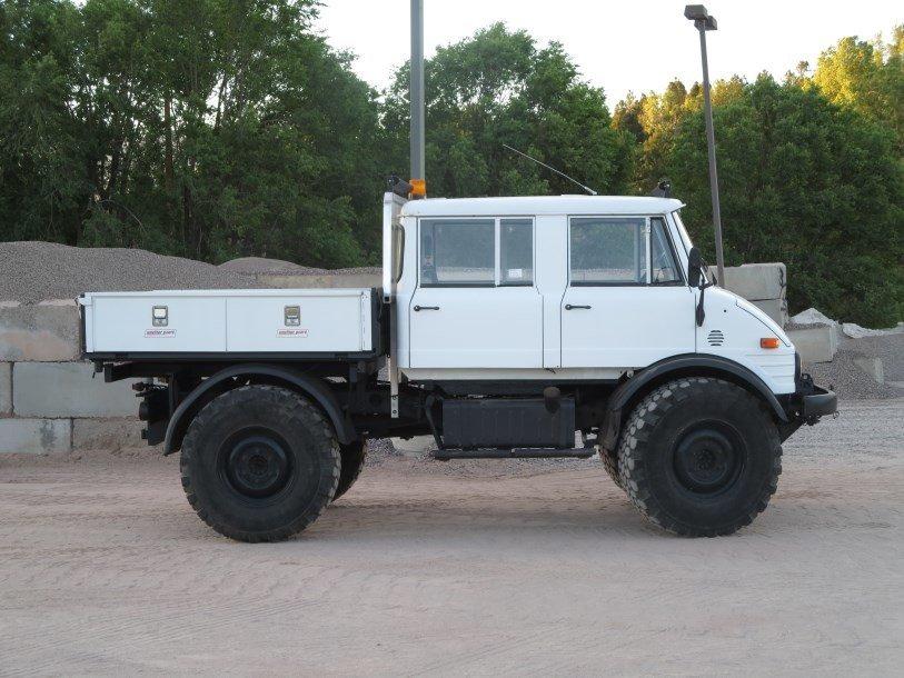 1982 Unimog 416 DOKA - NEW UPHOLSTERY, NEW LIGHTING