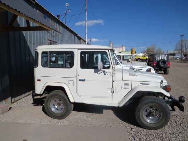1982 Toyota FJ40 LOW MILES ALL ORIGINAL!