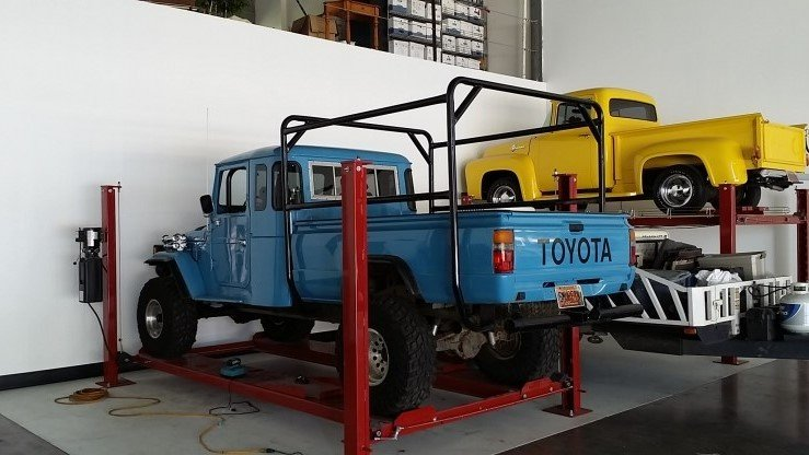1978 Toyota LAND CRUISER PICK-UP - LOADED CUSTOM V8 PS DB