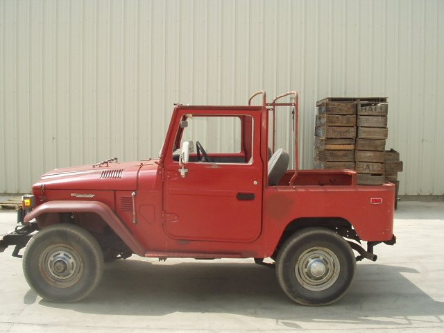 1976 Toyota FJ40 CONVERTBLE PROJECT CRUISER