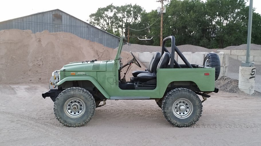 1971 Toyota FJ40 RUST FREE ORIGINAL WITH TOO MANY UPGRADEDS