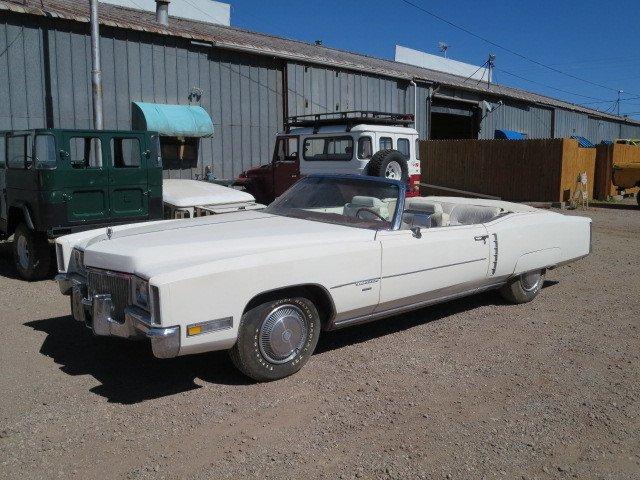 1971 Cadillac ELDORADO 2 DR CONVERTIBLE