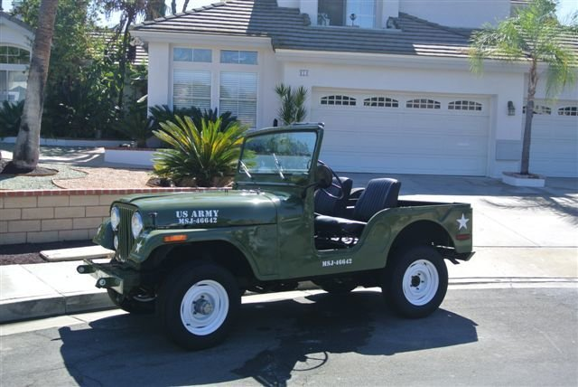 1973 Jeep MILITARY CJ 16,000 ORIGINAL MILES