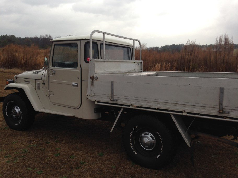 1978 Toyota FJ45 Pick up Original Low Miles Rust Free GREAT DR