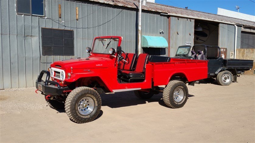 1966 Toyota FJ45 LONG WHEEL BASE PICK-UP