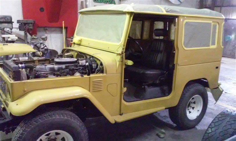 1979 Toyota FJ40 Project Ready For New Restoration for sale #54646 | MCG