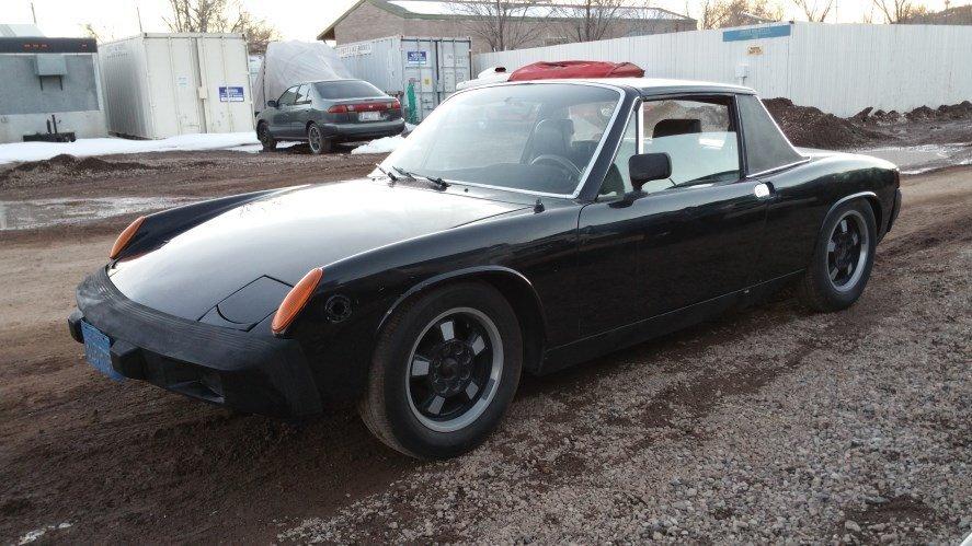 1975 Porsche 914 Super Low Miles