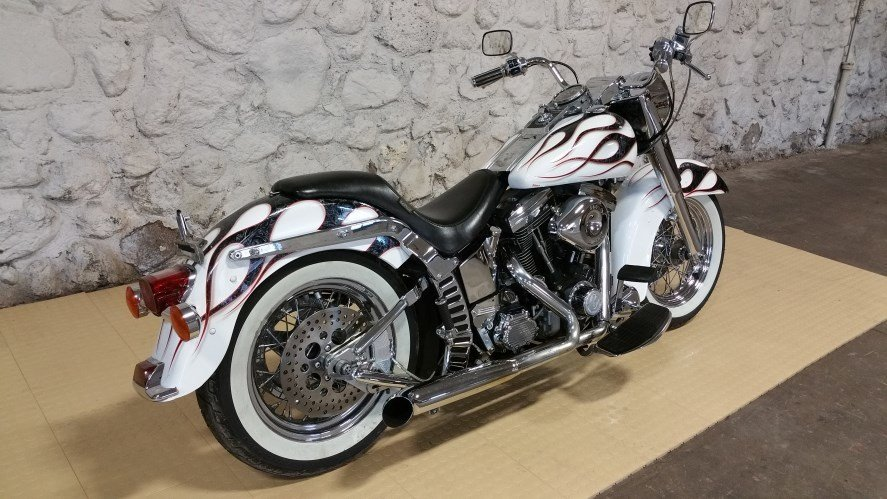 2013 HARLY DAVIDSON HARLEY ULTRA CYCLES FLSTF FATBOY SOFTAIL