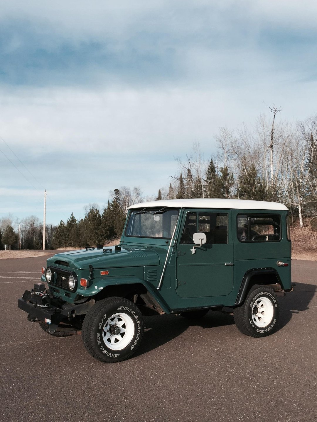 1974 Toyota Original FJ40 With Quick Release Hsrdtop