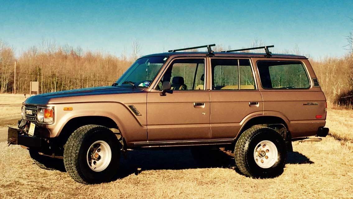 1985 Toyota FJ60 4 Dr Wagon Low Miles