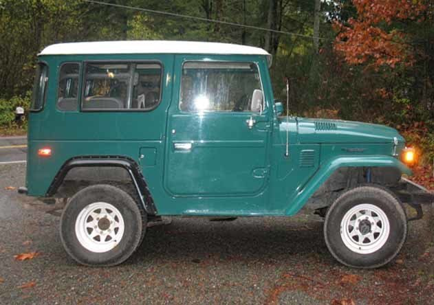 1979 Toyota FJ40 2 OWNERS ORIGINAL PAINT LOW MILES EXCELLENT