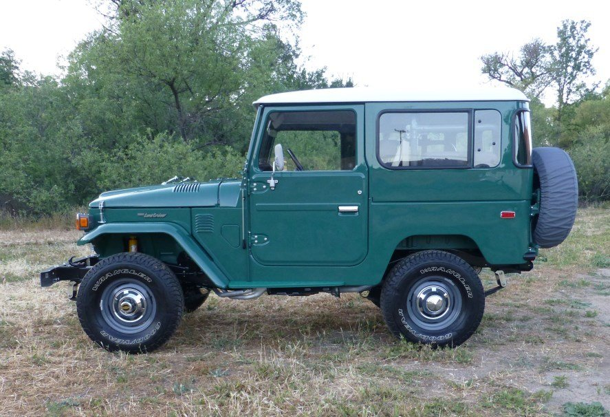 1979 Toyota OEM FJ40 CONCOURSE RESTORATION - BEST OF BREED