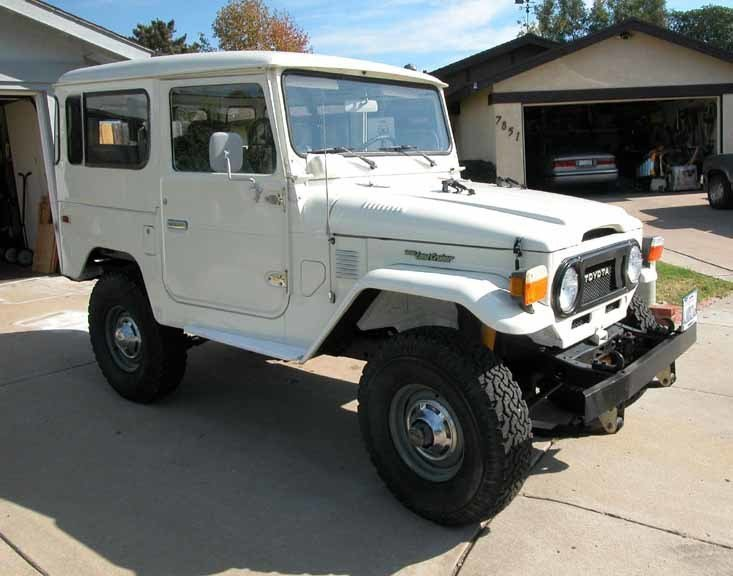 1978 RUST FREE Toyota NEAR MINT FJ40 LAND CRUISER