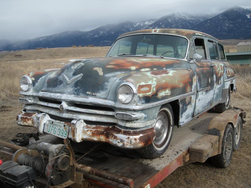 1953 Chrysler New Yorker Town & Country Hemi Wagon