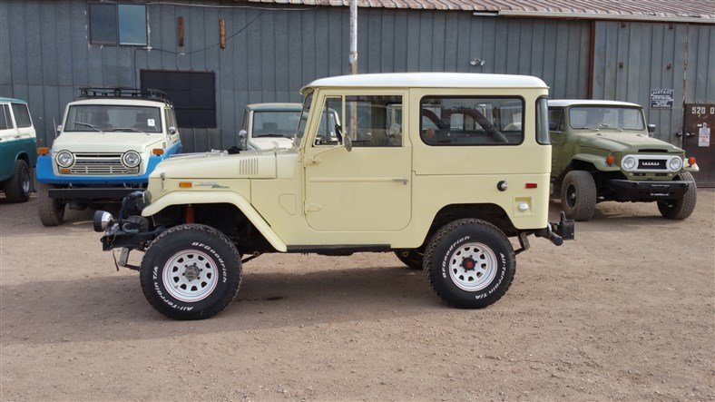 1971 Toyota ORIGINAL FJ40 RUST FREE UPGRADES