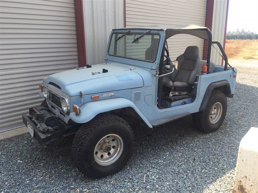 1972 Toyota FJ40 Original Paint - Super Clean - So Cal - longt