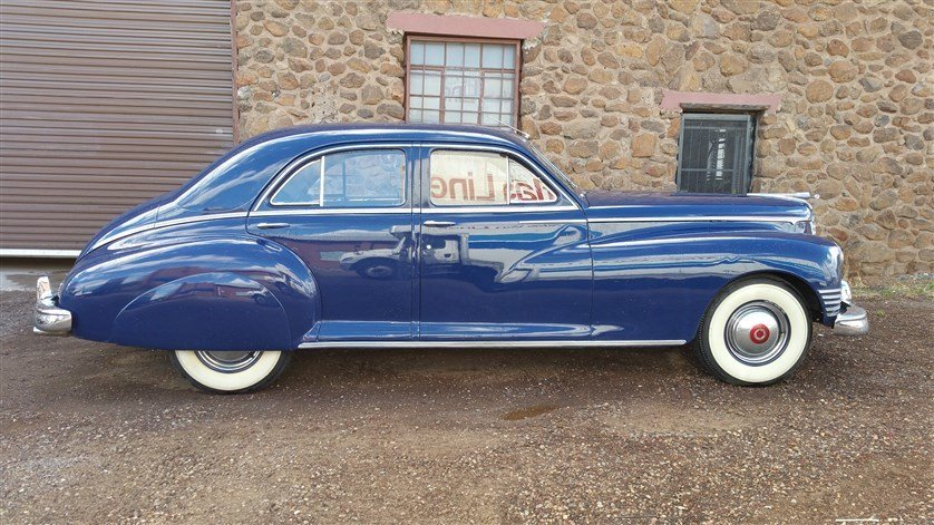1947 Packard Custom Clipper Luxury Sedan