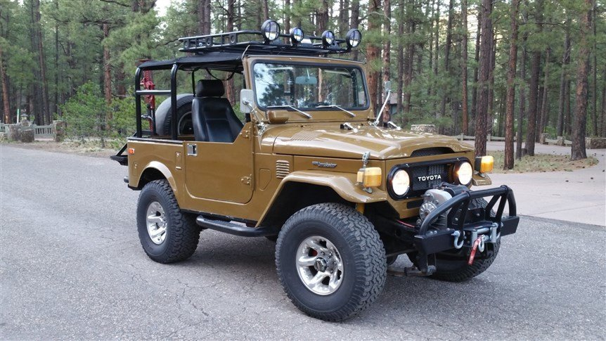 1976 Toyota CUSTOM FJ40 LOADED V8 5spd SUMMER FUN
