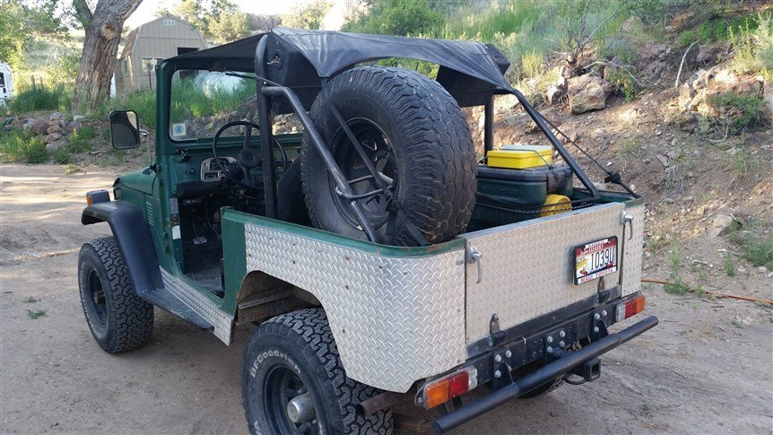 1976 Toyota FJ40 Hunting Cruiser PROJECT