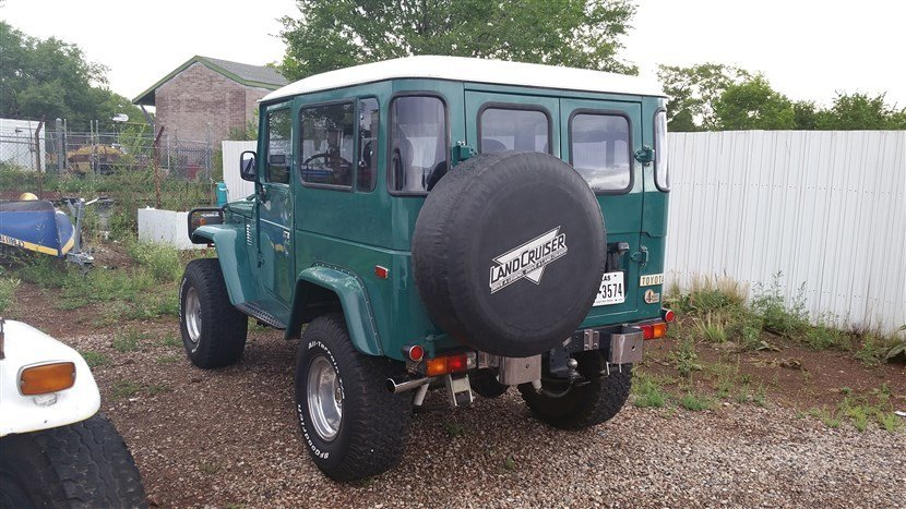 1978 Toyota FJ40 STOCK W/UPGRADES HD SUSPENSION