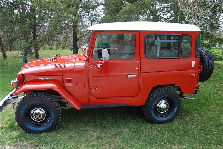 1984 Toyota MINT! US Model BJ42 LHD LOADED 5 SPD PS BODY OFF